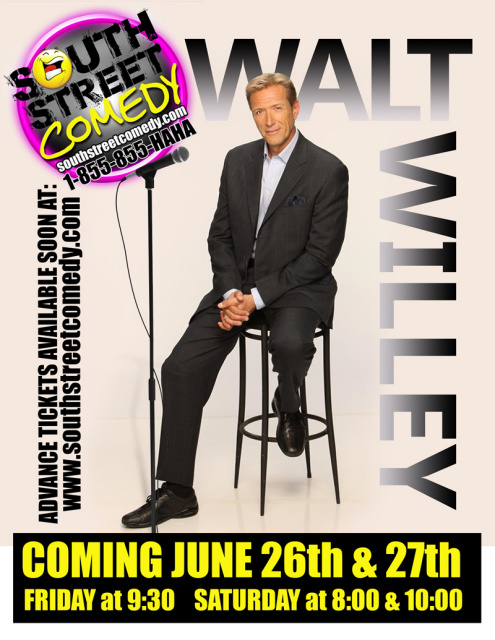 South Street Comedy with Walt Willey