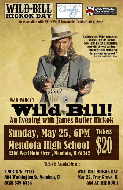 Wild Bill!   An Evening with James Butler Hickok