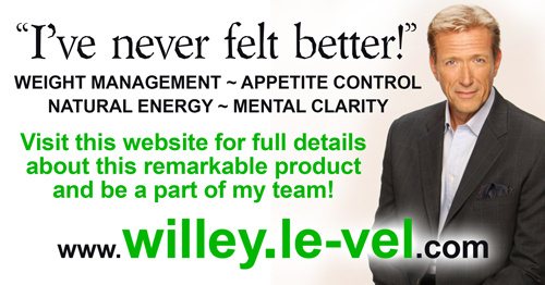 Walt Willey Thrive endorsement banner